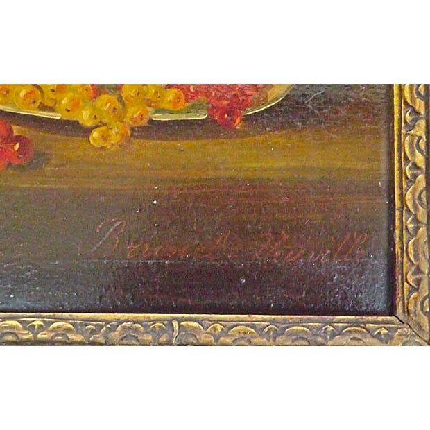 Image of Brunel Neuville Fruit Still Life Oil Painting