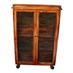Image of Antique Upcycled Liquor Cabinet