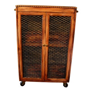 Antique Upcycled Liquor Cabinet