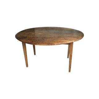 Antique French Drop Leaf Dining Table