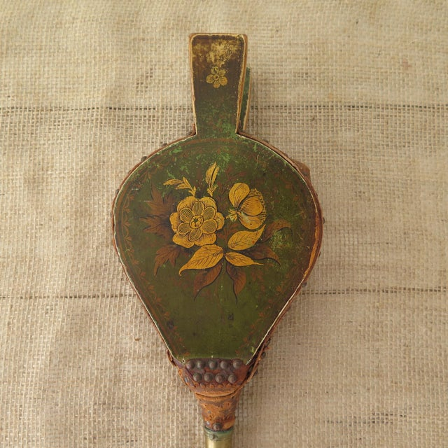 Antique Fireplace Bellows - Image 6 of 10