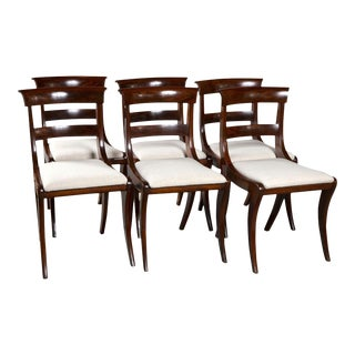 Late 19th Century Regency Dining Chairs - Set of 6