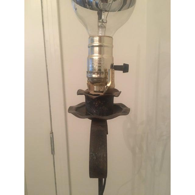 Image of Vintage Iron Floor Lamp
