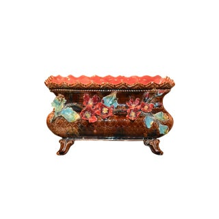 French Majolica Planter