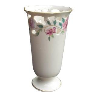Lenox White Porcelain Vase