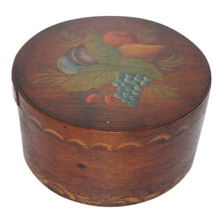 19th Century Original Painted Therom Style Pantry Box