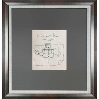 1984 Michael Graves Hand Drawing