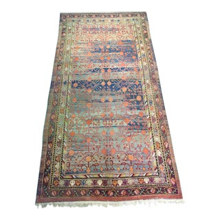 Antique Khotan Samarkand Pomegranate Rug - 5'10 x 11'5