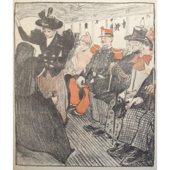 Original French Art Nouveau Print, Gil Blas 1894 - Image 2 of 2