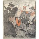 Image of Original French Art Nouveau Print, Gil Blas 1894
