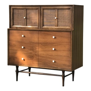 Mid-Century Modern Highboy Chest