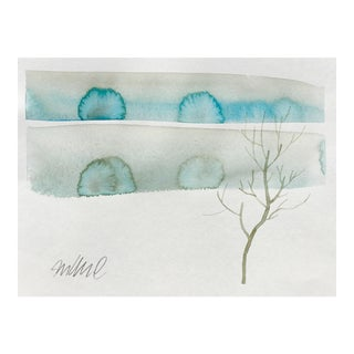"""Winters Dust"" Watercolor Painting"