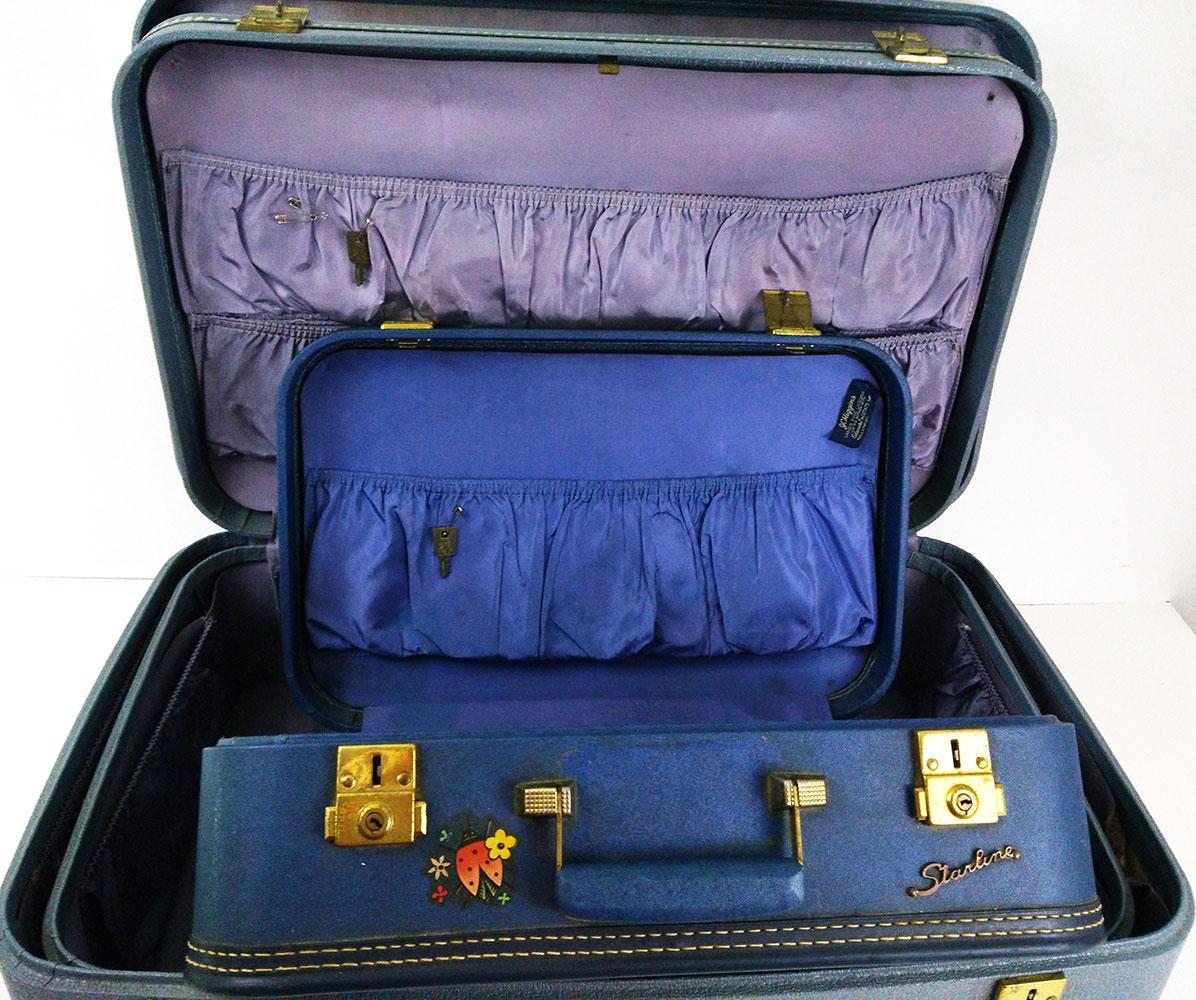 Vintage Suitcase Set 104