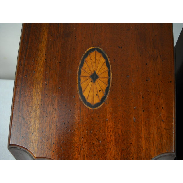 Georgian-Style Inlaid Knife Boxes - A Pair - Image 8 of 10