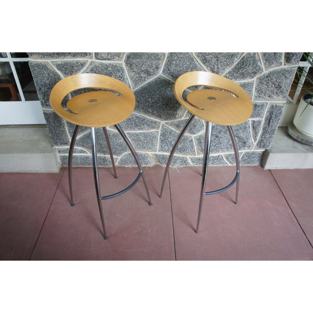 Image of Lyra Bar Stools by Magis - a Pair