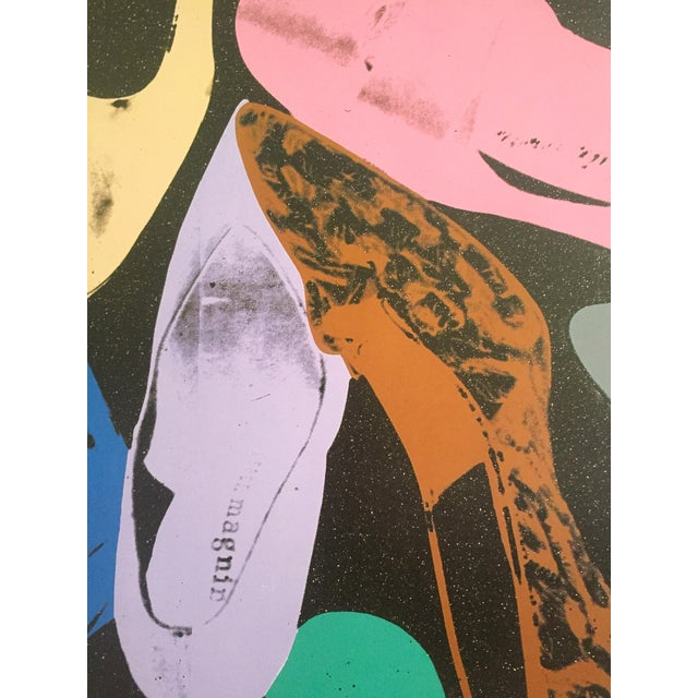 """Andy Warhol """"Diamond Dust Shoes"""" Offset Lithograph - Image 7 of 9"""