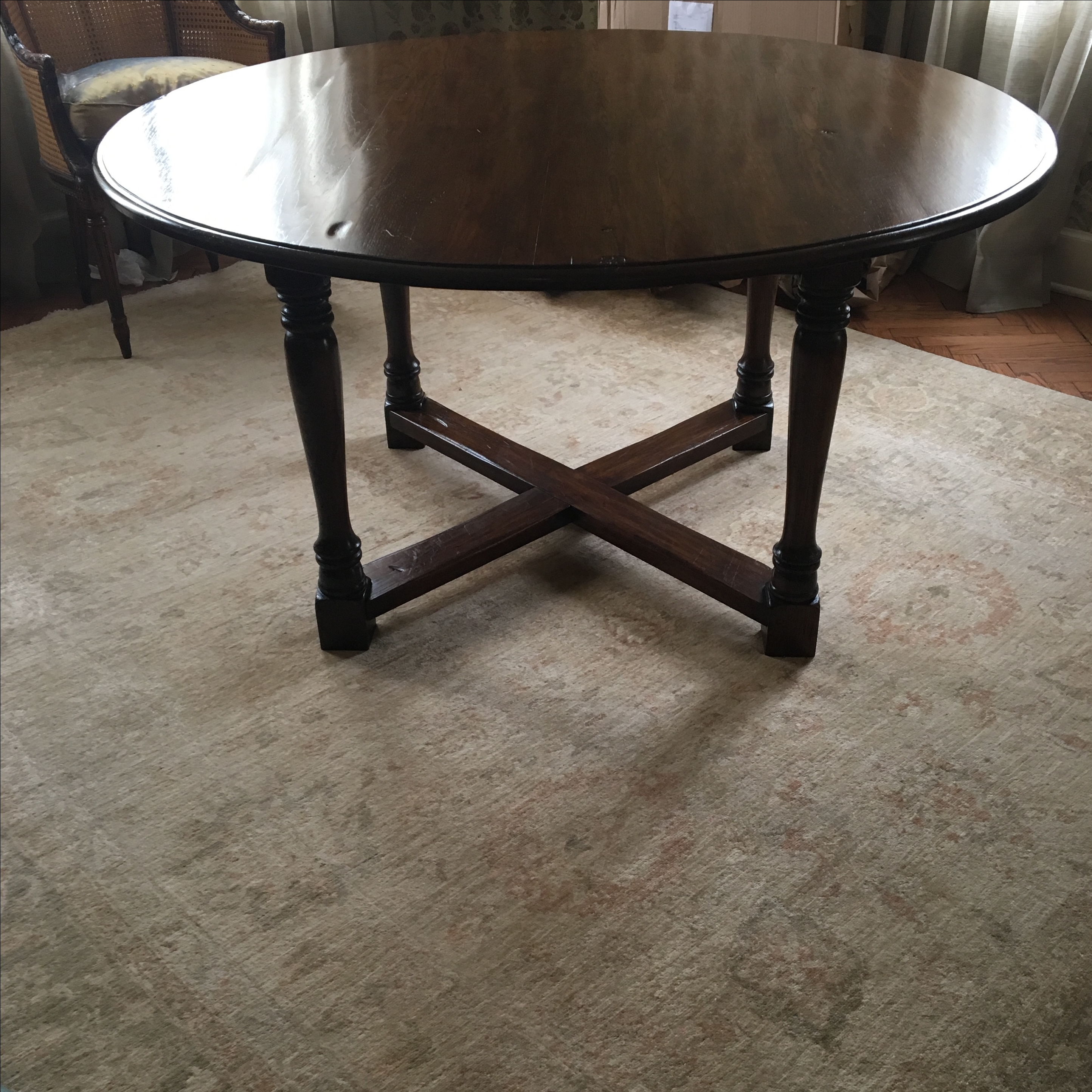 Antique Gate Leg Dining Table Chairish : 983e8c19 3755 42c6 a0d7 05efe2bec7f7aspectfitampwidth640ampheight640 from www.chairish.com size 640 x 640 jpeg 67kB