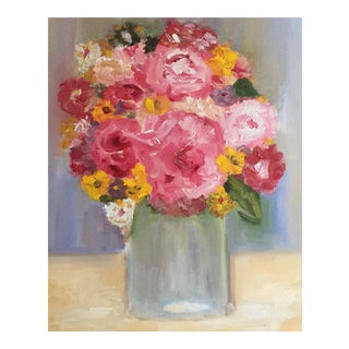 """""""Summer Flowers"""" Oil Painting"""
