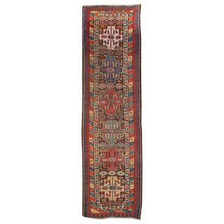 Antique Caucasian Carpet Runner