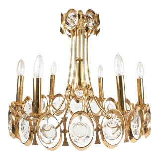 Palwa Gold-Plated Chandelier