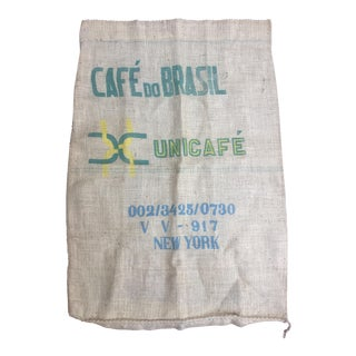 Burlap Brazilian Coffee Bag