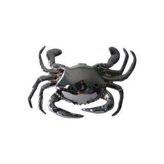 Chrome Crab Door Knocker