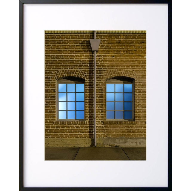 Image of Arched Windows - Night Photograph by John Vias