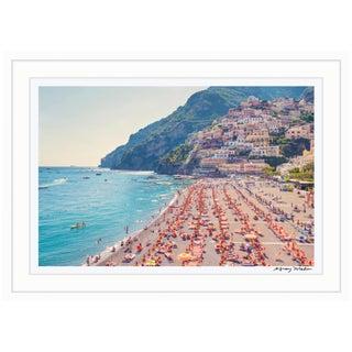 """Positano Beach"" (La Dolce Vita) Framed Limited Edition Signed Print by Gray Malin"