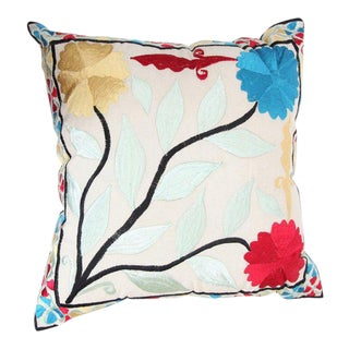 Multicolored Floral Rabati Pillow