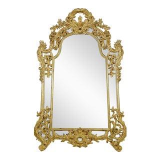 Italian Rococo Gilt Mirror