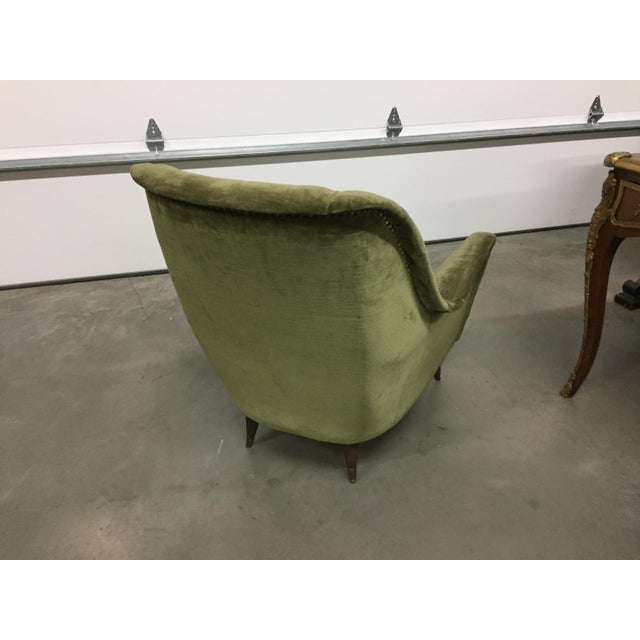 Italian Modern Lounge Chairs - Pair - Image 8 of 8