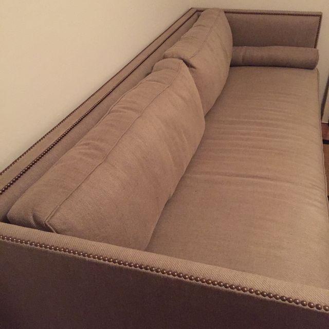 Brownstone Oliver Slipcover Sofa - Image 6 of 7