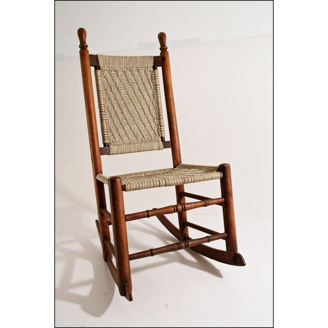 mid century modern wegner style rocking chairs for sale at t