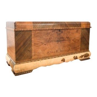 Art Deco Lane Cedar Chest Trunk