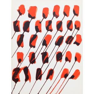 Alexander Calder, Les Fleurs, Lithograph