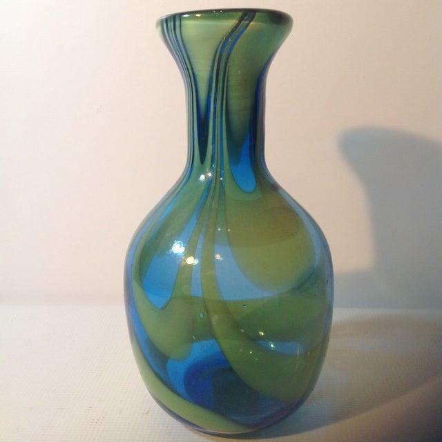 Super Blenko Designer Series Drag Loop Vase - Image 4 of 6