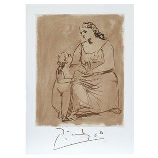 Pablo Picasso - Maternite Estate Lithograph Poster