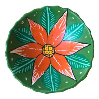 Mexican Vintage Handmade Clay Dish