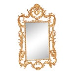 Image of Rococo Style Giltwood Mirror
