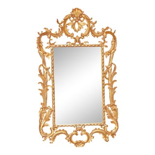 Rococo Style Giltwood Mirror