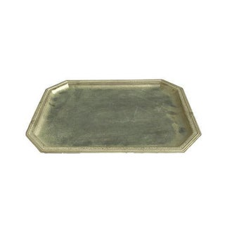 Silver Metallic Hexagon Tray