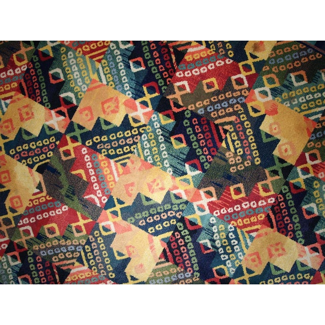 1970s Hand Made Vintage Art Deco Chinese Rug - 4' X 6' - Image 4 of 7