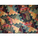 Image of 1970s Hand Made Vintage Art Deco Chinese Rug - 4' X 6'