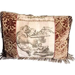 Cherub Fringe Pillow