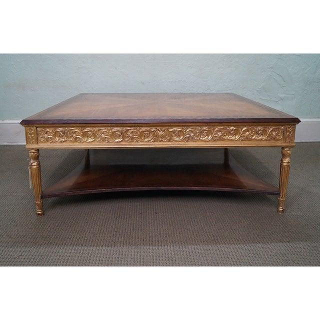 Jonathan Charles Louis XVI Inlaid Coffee Table - Image 3 of 10