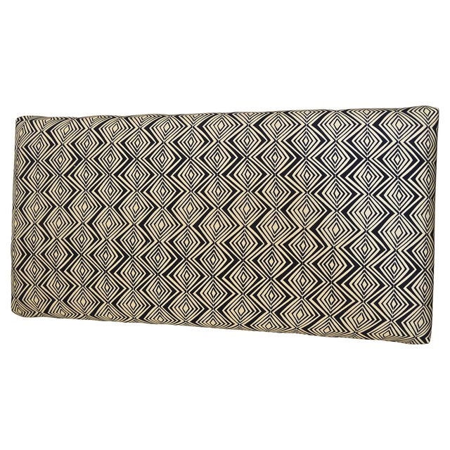 1960s Milo Baughman Style Upholstered Bench - Image 5 of 6