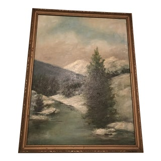 Early 20th Century Impressionist Landscape Painting