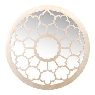Contemporary Beige Anneli Mirror