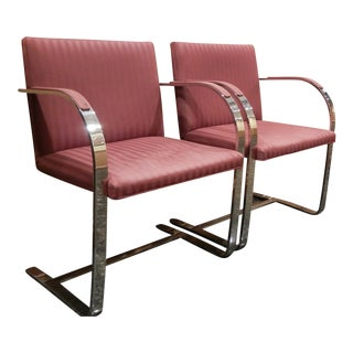 1960s Mies Van Der Rohe Brno Chairs for Bruerton - A Pair