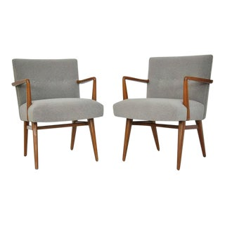 Set of Four Jens Risom Armchairs